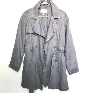 Old Navy linen trench M